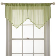 MarthaWindow™ Airy Sheer Ascot Valance