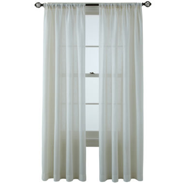 jcpenney.com | MarthaWindow™ Figment Rod-Pocket/Back-Tab Curtain Panel