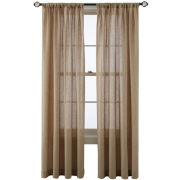 MarthaWindow™ Figment Rod-Pocket/Back-Tab Curtain Panel