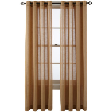 jcpenney.com | MarthaWindow™ Figment Grommet-Top Curtain Panel