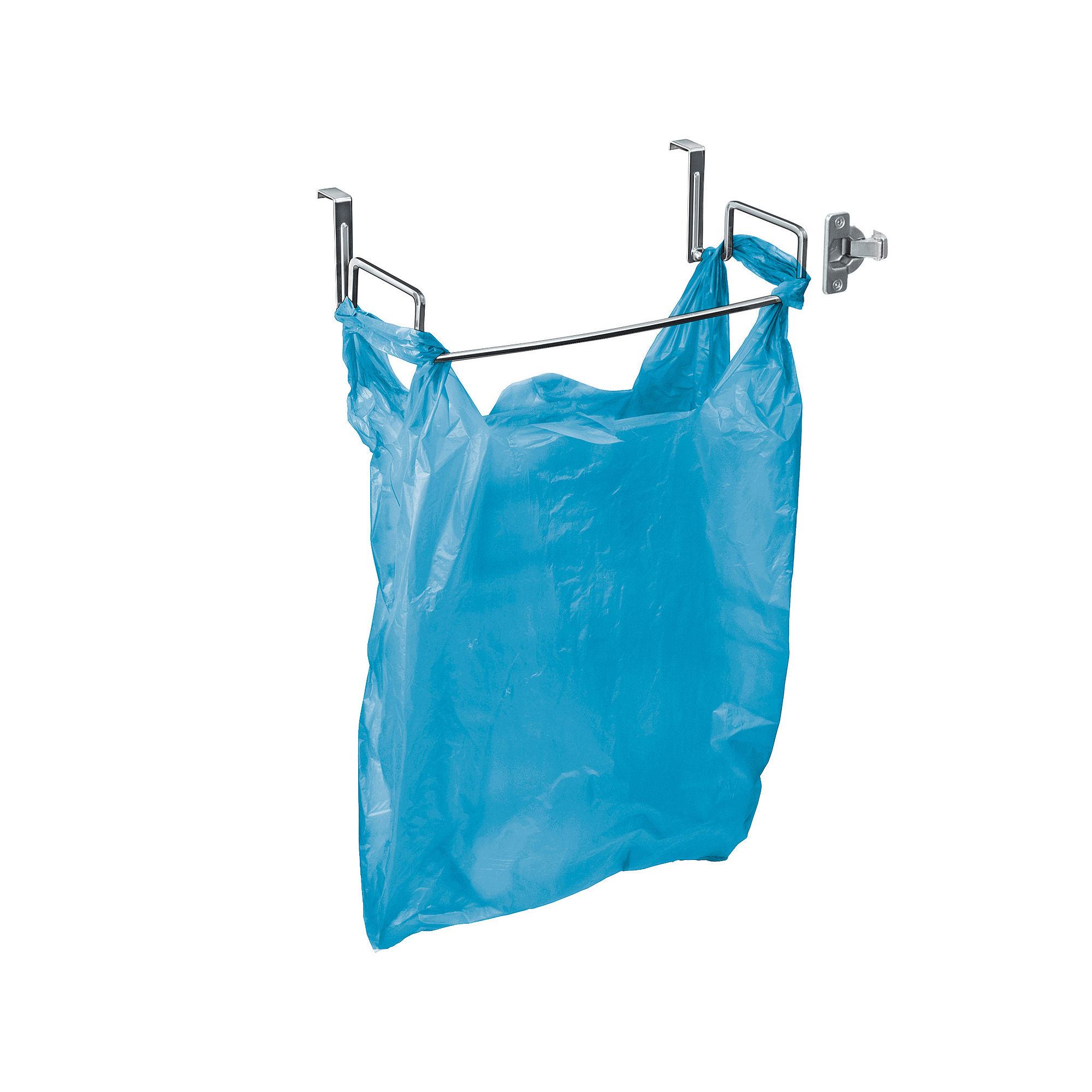 LYNK Over-the-Door Chrome Bag Holder