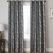 Edison Tree Grommet-Top Curtain Panel