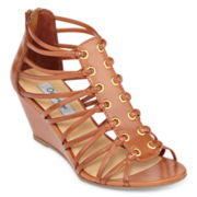 Olsenboye® Halle Wedge Gladiator Sandals