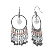 Mixit® Pastle Dream Catcher Chandelier Earrings