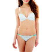Flirtitude® Lace Plunge Bra or String Bikini Panties