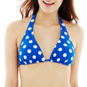 Arizona Polka Dot Slider Halter Swim Top