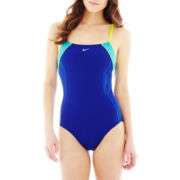 Nike® Racerback 1-Piece Swimsuit