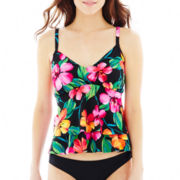 Trimshaper® Luau Tankini Swim Top
