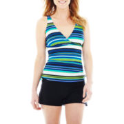 St. John's Bay® Striped Tankini Swim Top or Bottoms