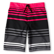 Arizona Striped Swim Trunks - Boys 6-18