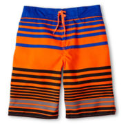Arizona Striped Swim Trunks - Boys 6-20