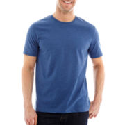 St. John's Bay® Short-Sleeve Heathered Tee