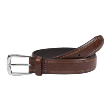 jcpenney.com | Dockers® Tan Leather Belt w/ Contrast Stitching