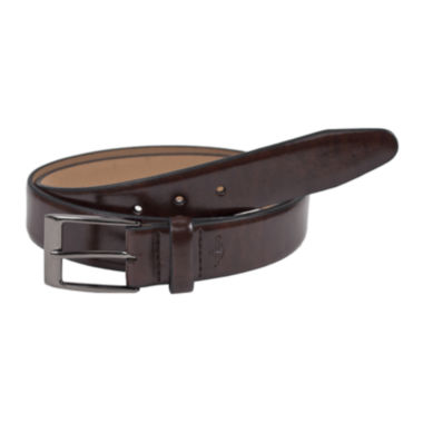 jcpenney.com | Dockers® Leather Feather-Edge Belt–Big & Tall
