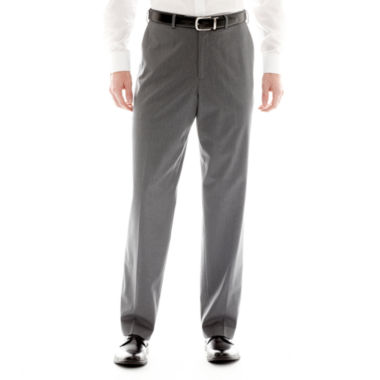 jcpenney.com | IZOD® Gray Striped Flat-Front Suit Pants