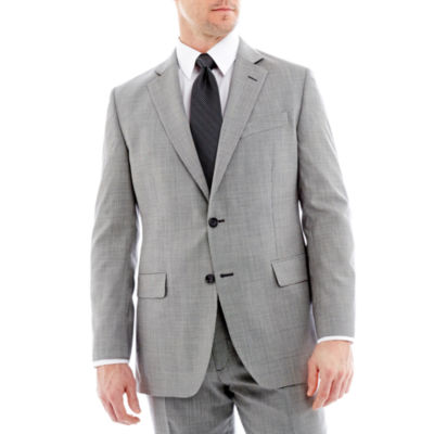 Stafford® Mini Houndstooth Suit Jacket - Classic