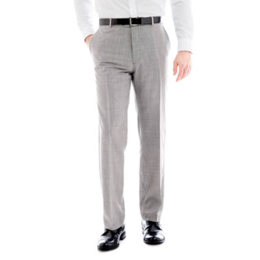 jcpenney.com | Stafford® Mini Houndstooth Flat-Front Suit Pants - Classic