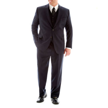jcpenney.com | Stafford® Executive Super 100 Wool Suit Separates - Big & Tall