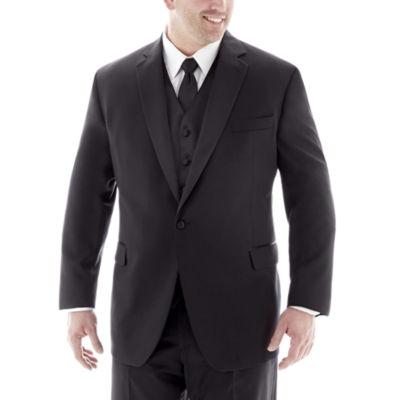 Stafford® Tuxedo Jacket–Big & Tall