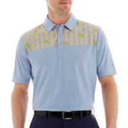 Jack Nicklaus® Heathered Print Polo