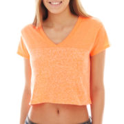 City Streets® Monochromatic Colorblock Crop Top