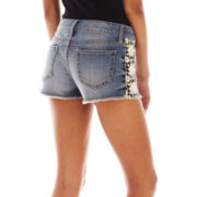 Decree® Crochet Shorts