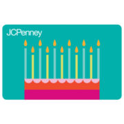 Birthday Cake and Candles Gift Card