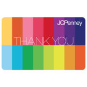 $10 Thank You Rainbow Gift Card