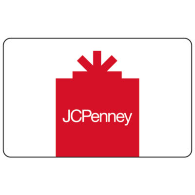 $50 JCP Red Gift Card
