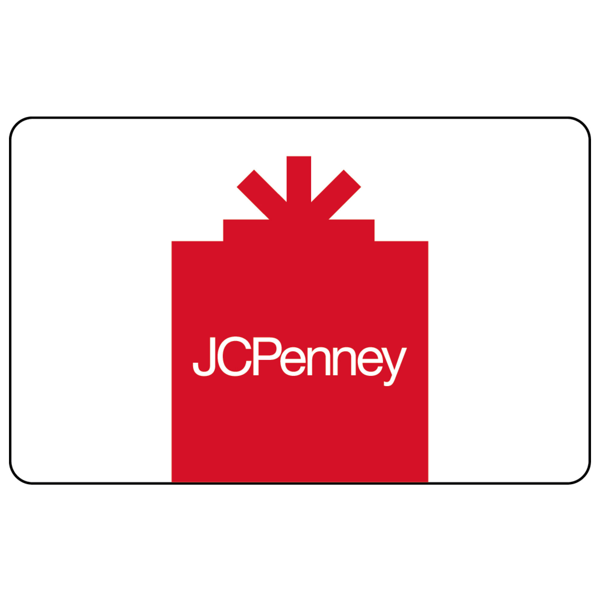 25 JCP Red Gift Card