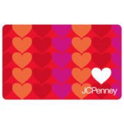 $25 White Heart Love Gift Card