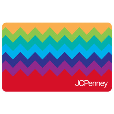 jcpenney.com | Chevron Rainbow Gift Card