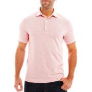 Claiborne 2-Tone Piqué Polo Shirt