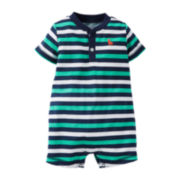 Carter's® Striped Romper − Baby Boys newborn-24m