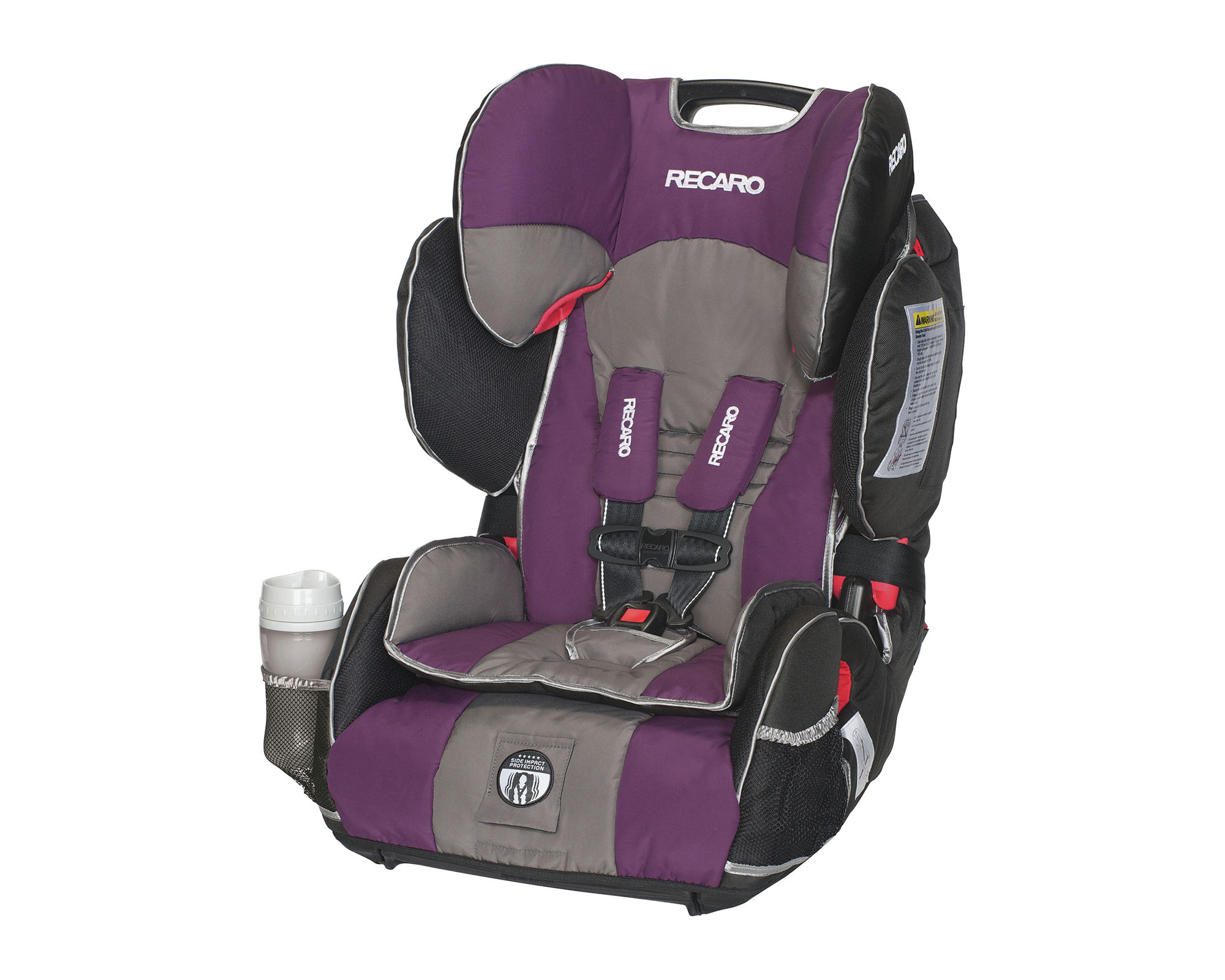 Recaro Performance Sport Harness Booster Car Seat - Plum