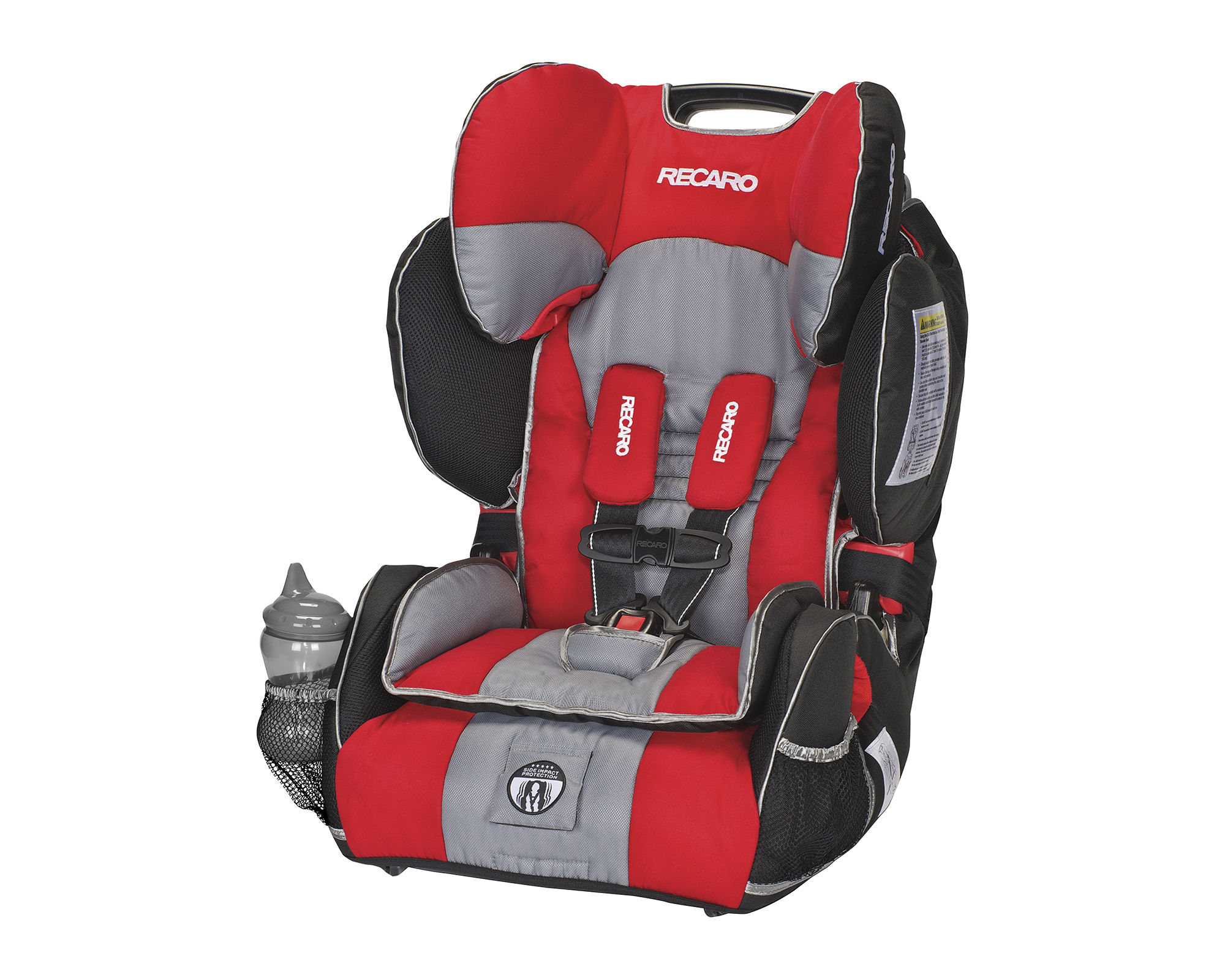 Recaro Performance Sport Harness Booster Car Seat - Redd