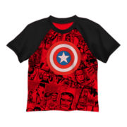 Captain America Graphic Tee – Preschool Boys 4-7