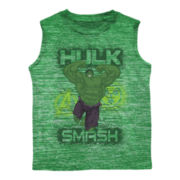 Hulk Graphic Tee - Preschool Boys 4-7