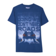 Back to the Future™ No Roads Graphic Tee