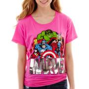 Marvel® Heroes Short-Sleeve Graphic Tee