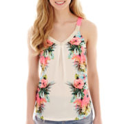 Rewind Print Swing Tank Top