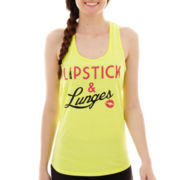 Chin-Up Knit Tank Top