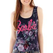 Barbie Floral Print Tank Top
