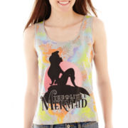 Disney Little Mermaid Ariel Floral Print Tank Top