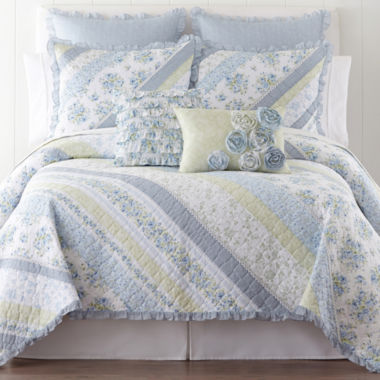 jcpenney.com | Home Expressions™ Blossom Quilt & Accessories
