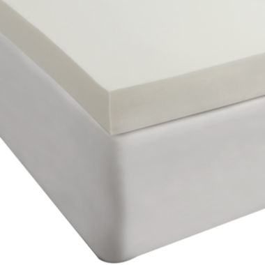 "jcpenney.com | Comfort Revolution 4"" Memory Foam Mattress Topper"