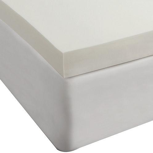 "Comfort Revolution 4"" Memory Foam Mattress Topper"