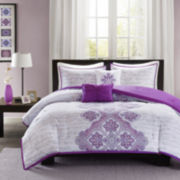 Intelligent Design Hannah Bohemian Comforter Set