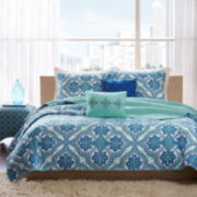 Intelligent Design Lana Bohemian Quilt Set