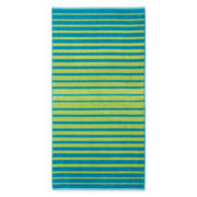 Outdoor Oasis Stripe Beach Towel